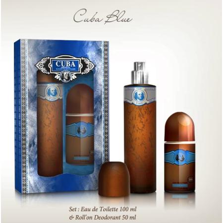 d5ec18571 Cuba Blue - zestaw, woda toaletowa, roll on - Perfumy.Pasaz-Handlowy.com